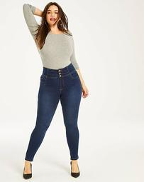 Shape & Sculpt Extra High Waist Skinny Jeans