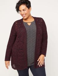 Vanissie Crochet Cardigan