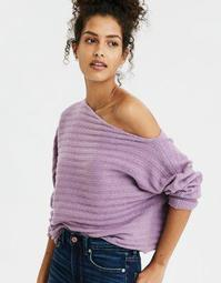 AE Slouchy Off-The-Shoulder Sweater