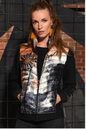 Art Inspired Puffer Jacket