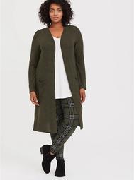 Premium Legging - Plaid Olive Green
