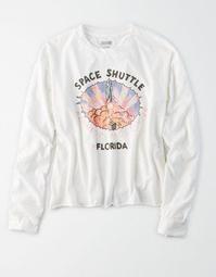AE Long Sleeve NASA Graphic T-Shirt