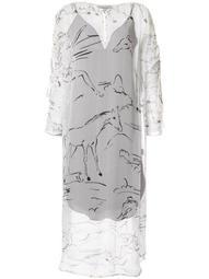 Gypsy Silk Channel Dress