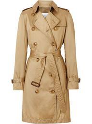 detachable hood trench coat