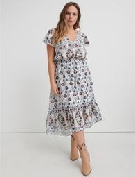 Printed Felice Dress