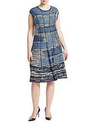 Plus Mesmerize Twirl Dress