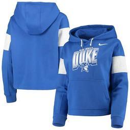 Women's Nike Royal Duke Blue Devils Local Pullover Hoodie