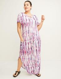 Active Tie-Dye Maxi Dress