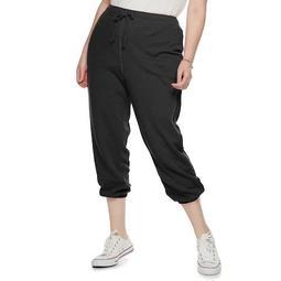 Juniors' Plus Size SO® Columbus Crew Cropped Cinch Jogger Sweatpants