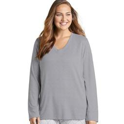 Jockey® Plus Size Women's Starlight Star Bright Long Sleeve Top