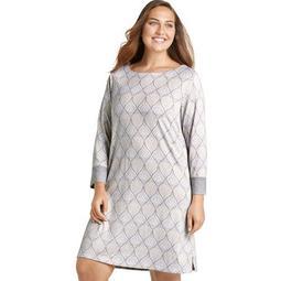 Jockey® Plus Size Women's Starlight Star Bright Long Sleeve Sleep Shirt