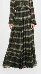 4 Tiered Gathered Skirt